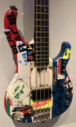 "Flea of the Red Hot Chili Peppers' ""Punk Bass"" used for the RHCP's By the Way album and 2002-3 tour."