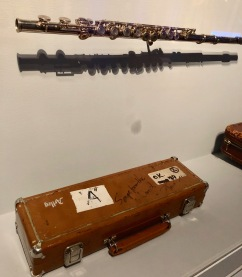Jethro Tull's Ian Anderson used this flute in live performances.