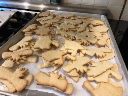 Bake the cookies.